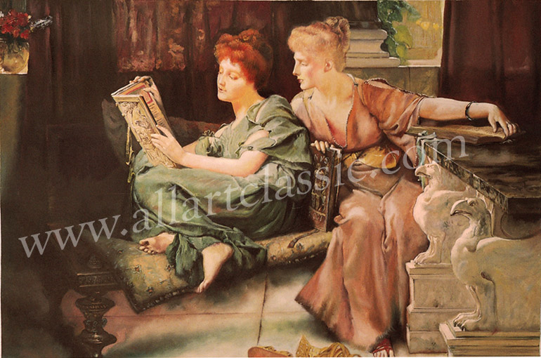 Oil Painting Reproductions of Alma-Tadema, Sir Lawrence