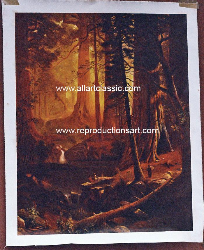Bierstadt Painting Work sample
