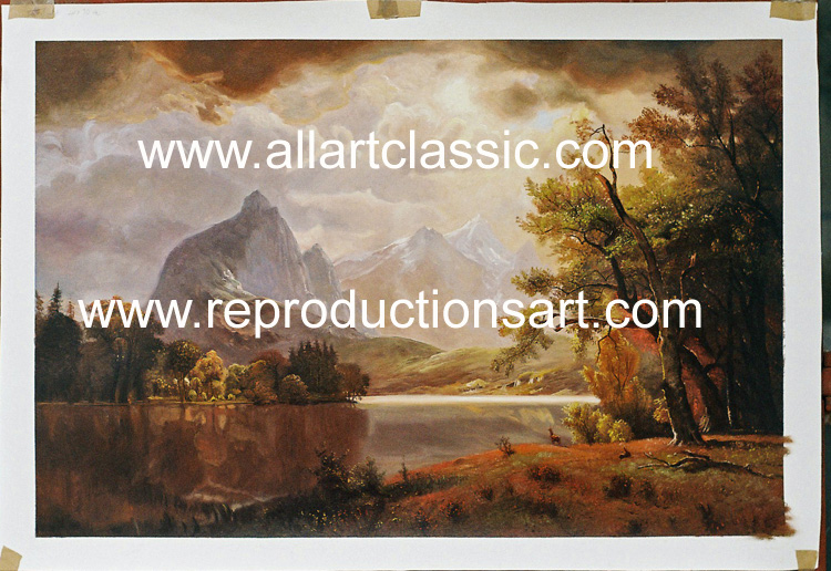 Oil Painting Reproductions of Albert Bierstadt Reproductions Paintings