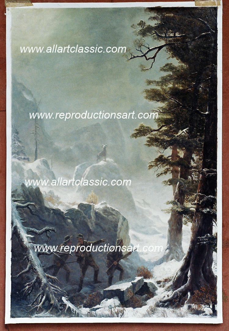 Albert Bierstadt Painting Work sample