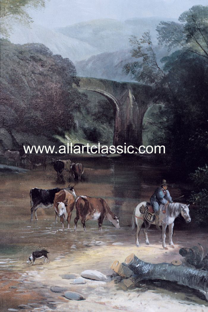 Art Reproductions Boddington_001N_A. Our Oil Painting Reproduction -Zoom Details