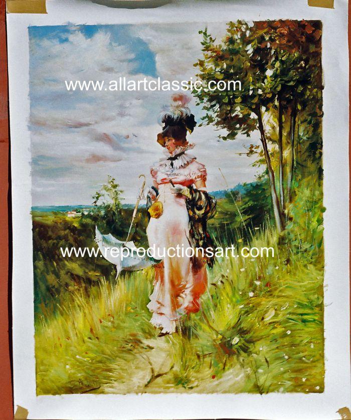 Boldini Painting Work sample