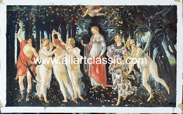 Botticelli Painting Work sample
