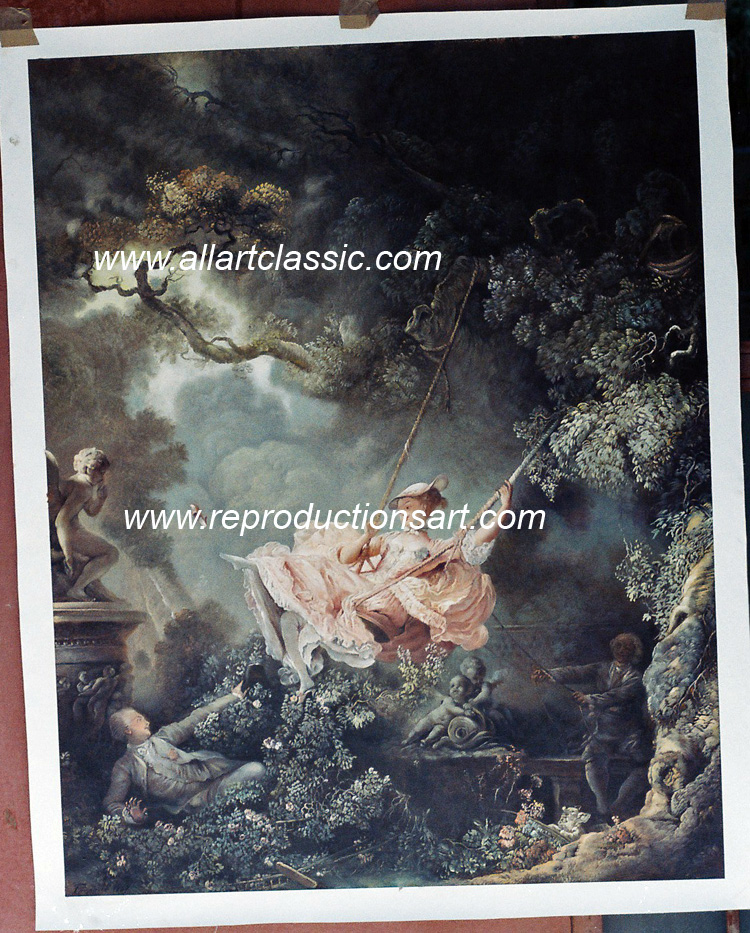 Oil Painting Reproductions of Fragonard Paintings
