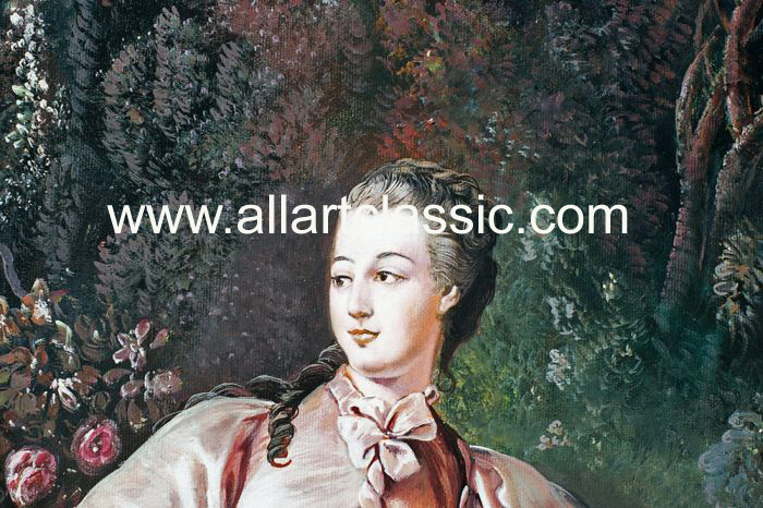 Art Reproductions Boucher_Paintings_001N_D. Our Oil Painting Reproduction -Zoom Details