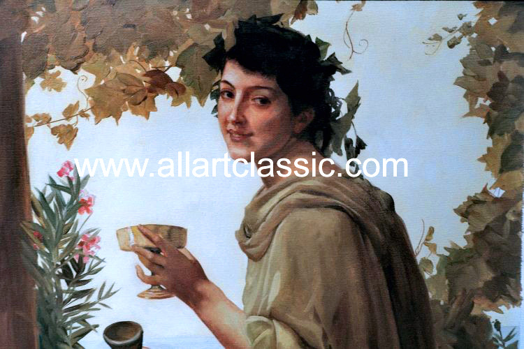 Art Reproductions Bouguereau_001N_A. Our Oil Painting Reproduction -Zoom Details