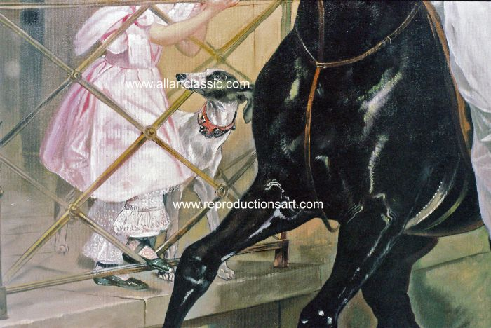 Art Reproductions Brullov_001N_A. Our Oil Painting Reproduction -Zoom Details