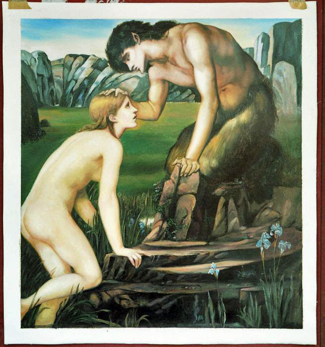 Oil Painting Reproductions of Edward Coley Burne Jones