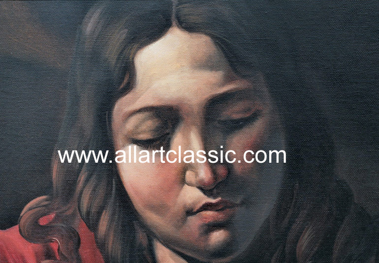 Art Reproductions CAM006N_B. Our Oil Painting Reproduction -Zoom Details