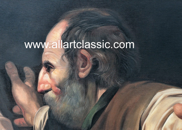 Art Reproductions CAM006N_C. Our Oil Painting Reproduction -Zoom Details