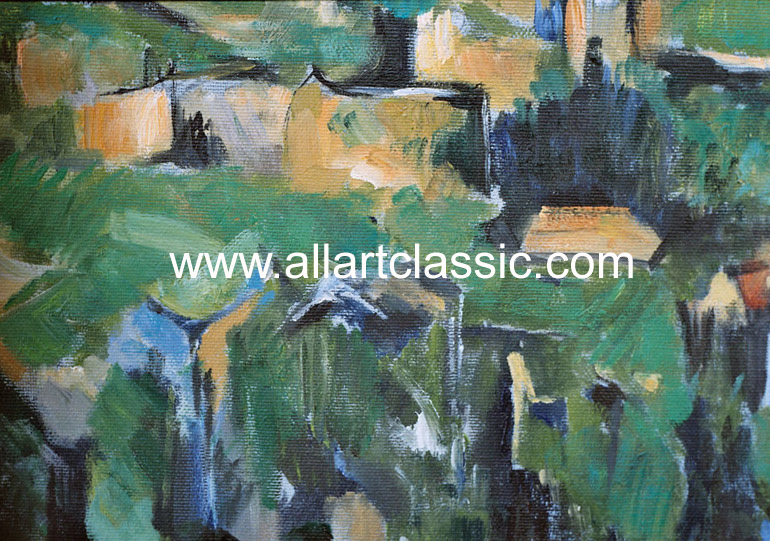 Oil Painting Reproductions Cezanne, Paul