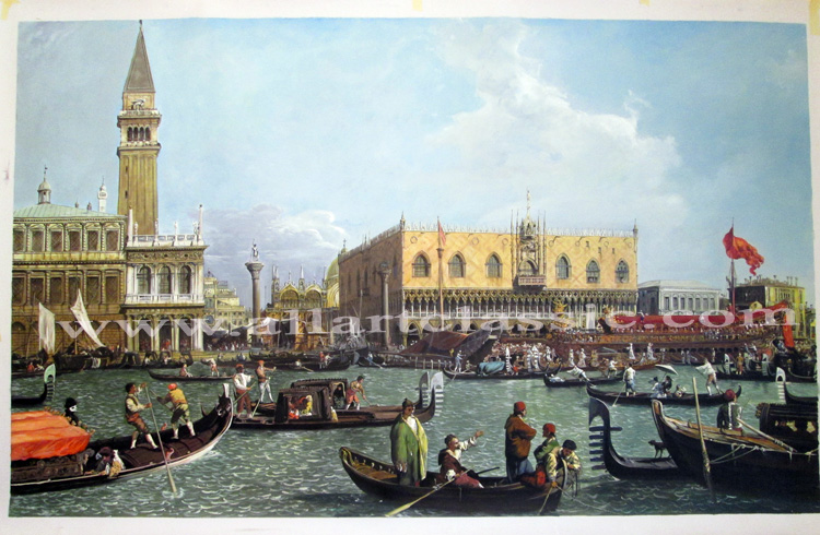 Canaletto Painting Work sample