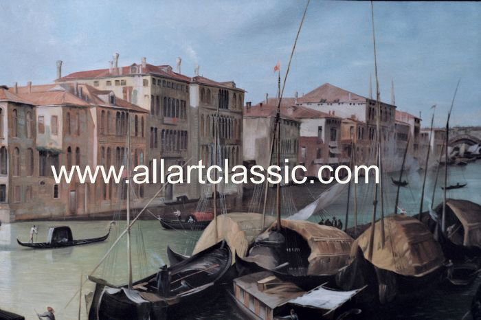 Oil Painting Reproductions Canaletto