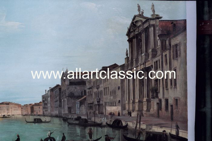 Art Reproductions Canaletto_Paintings_003N_A. Our Oil Painting Reproduction -Zoom Details