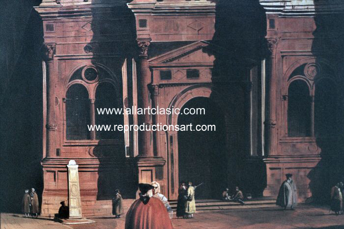 Oil Painting Reproductions Canaletto Paintings