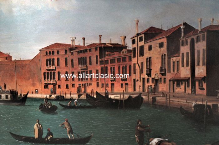 Art Reproductions Canaletto_Reproductions_002N_B. Our Oil Painting Reproduction -Zoom Details