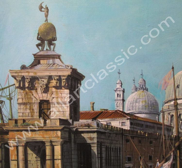 Art Reproductions Canaletto_Venice_Reproduction_L_D. Our Oil Painting Reproduction -Zoom Details