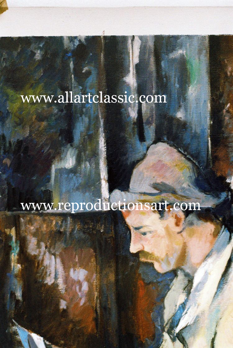 Oil Painting Reproductions Paul Cezanne Paintings