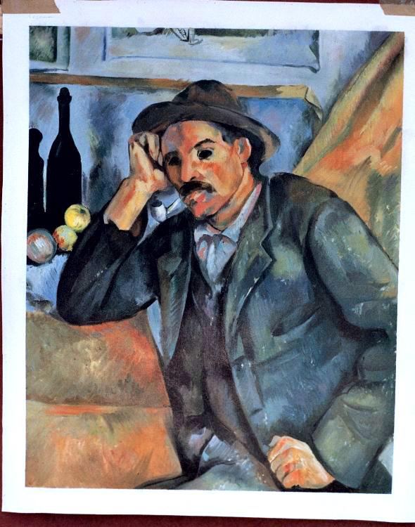 Cezanne Painting Worksample