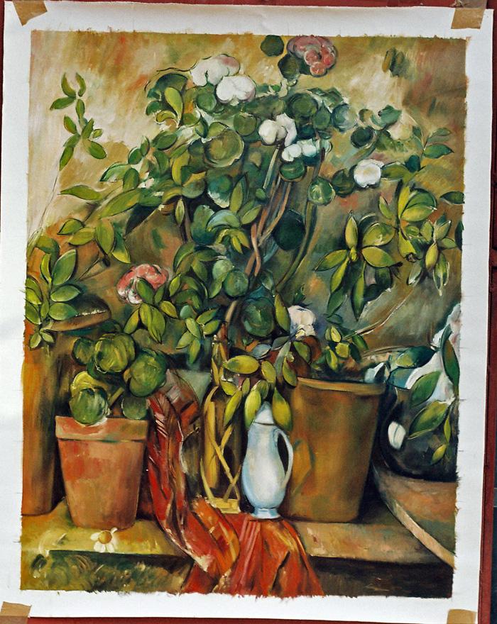 Cezanne Painting Work sample