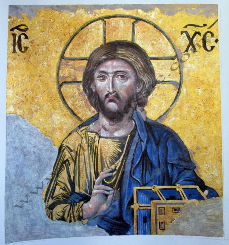 Christ Pantocrator Painting Work sample