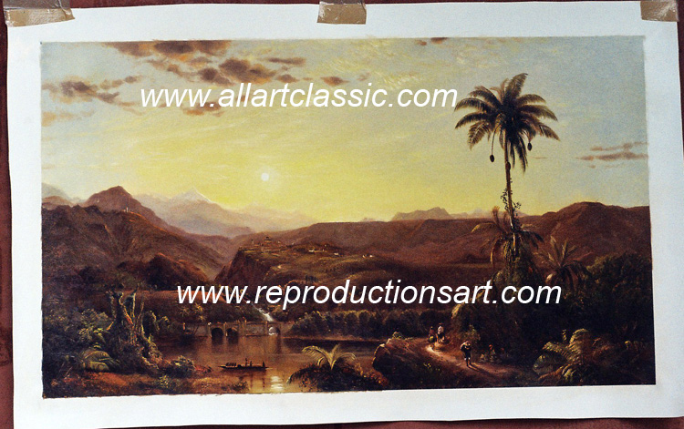 Frederic Edwin Church Painting Work sample