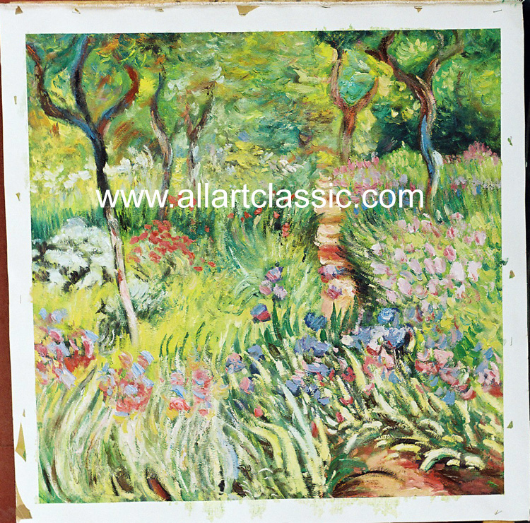 Monet Painting Worksample