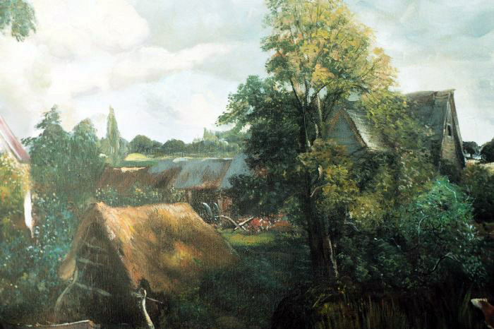Art Reproductions Constable_001N_B. Our Oil Painting Reproduction -Zoom Details