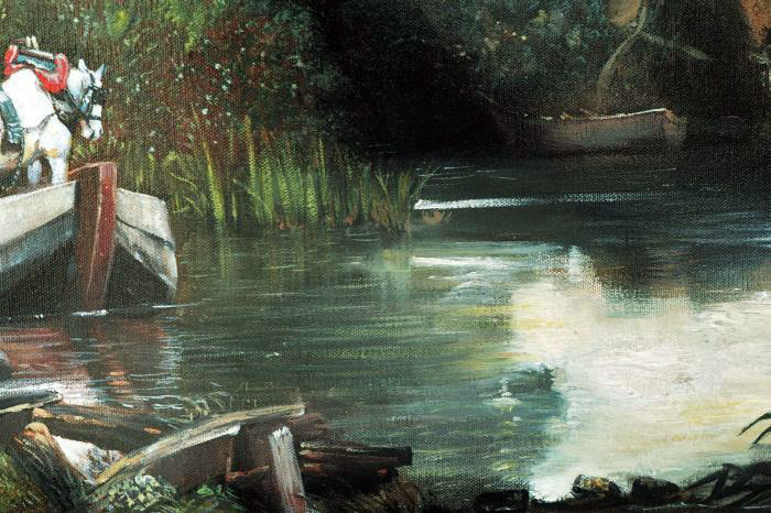 Art Reproductions Constable_001N_D. Our Oil Painting Reproduction -Zoom Details