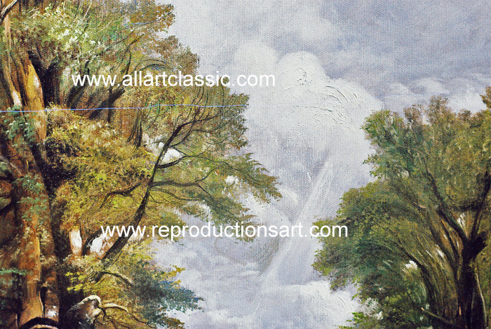 Art Reproductions Constable_Paintings_013N_B. Our Oil Painting Reproduction -Zoom Details