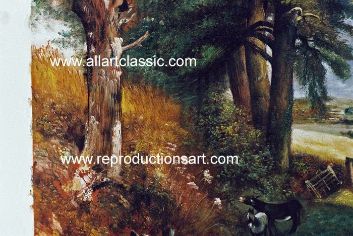 Art Reproductions Constable_Paintings_013N_C. Our Oil Painting Reproduction -Zoom Details