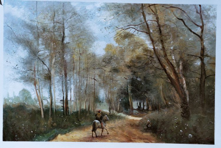 Jean-Baptiste -Camille Corot Painting Work sample