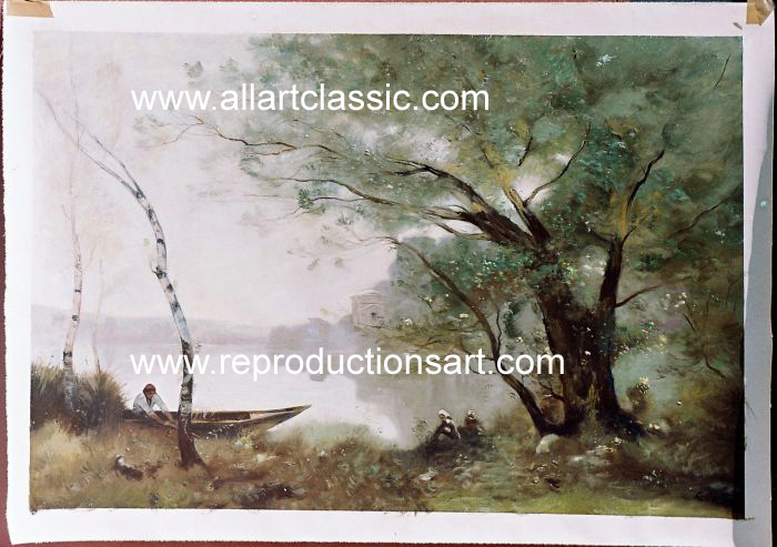 Oil Painting Reproductions of Jean-Baptiste -Camille Corot Painting