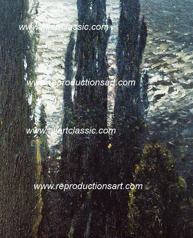 Art Reproductions Dubovskoy_001N_B. Our Oil Painting Reproduction -Zoom Details