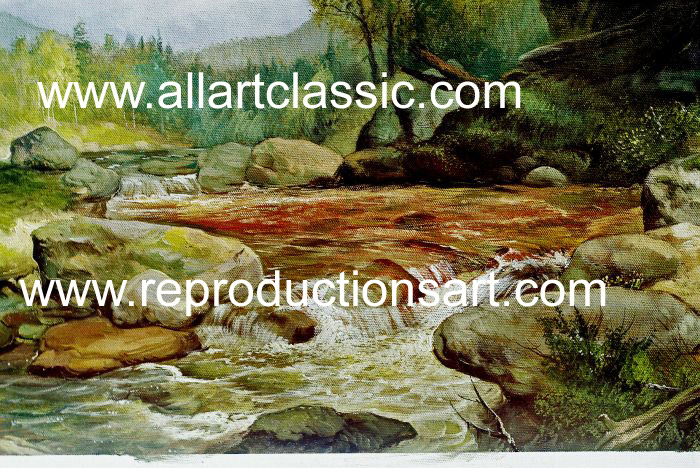 Oil Painting Reproductions Asher Durand Paintings