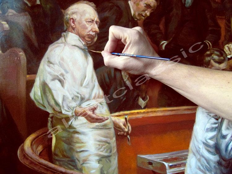 Eakins Painting Work sample