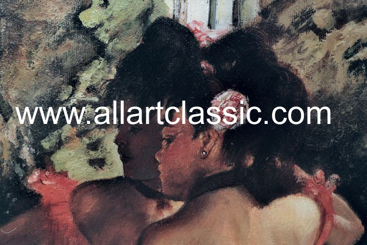 Art Reproductions Edgar_Degas_DEE028N_B. Our Oil Painting Reproduction -Zoom Details