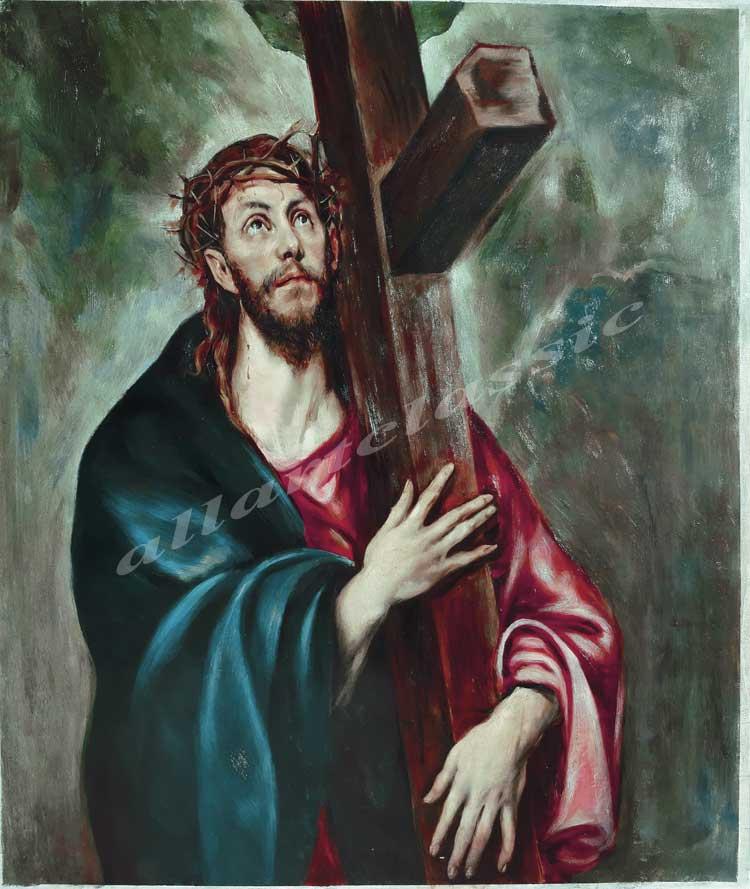 El Greco Painting Work sample
