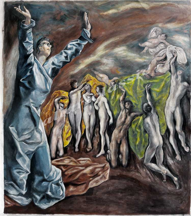 El Greco  Painting Work sample