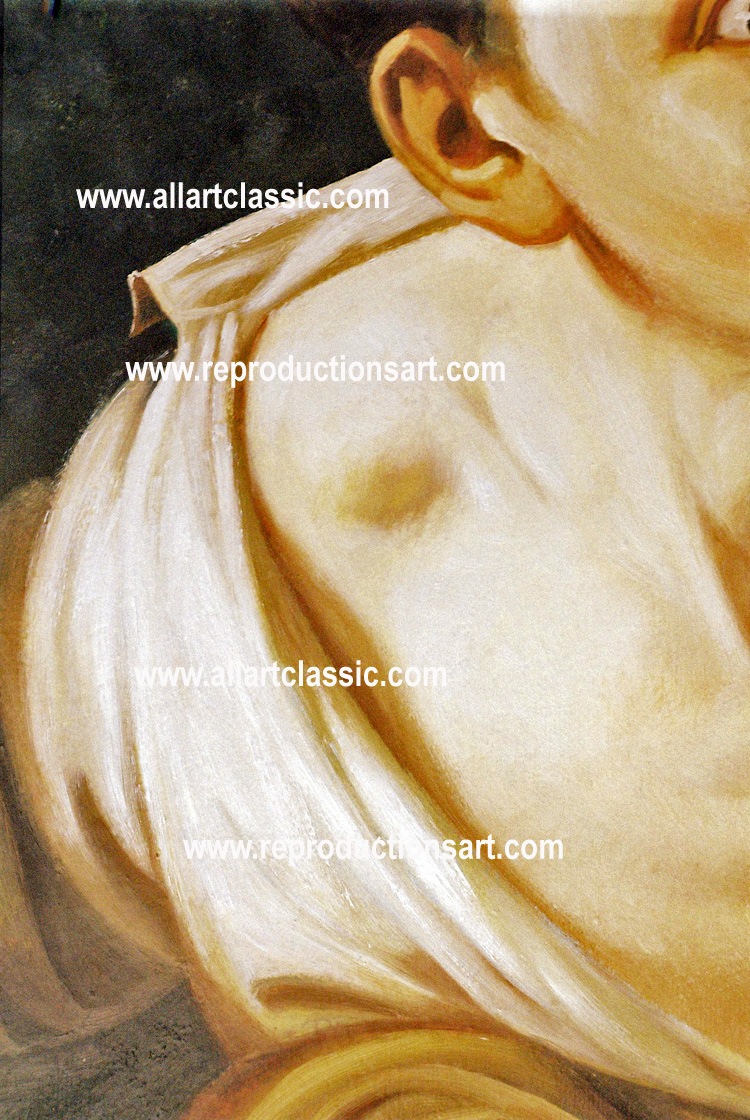 Art Reproductions Escaping-Criticism-N_C. Our Oil Painting Reproduction -Zoom Details