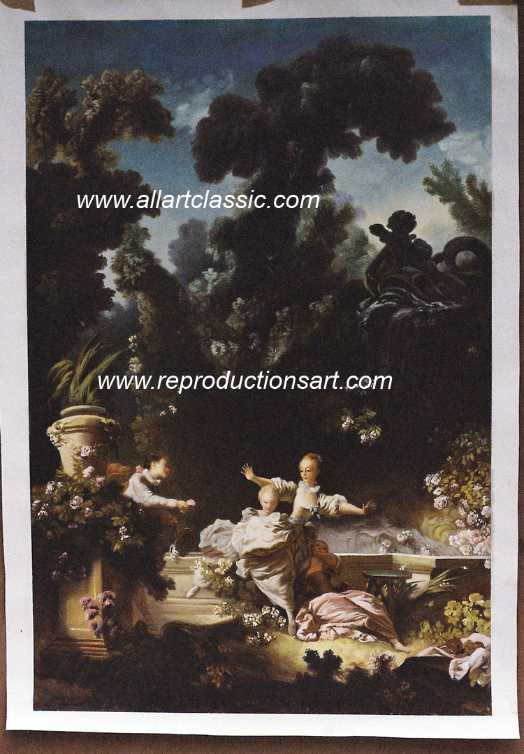 Fragonard Painting Work sample
