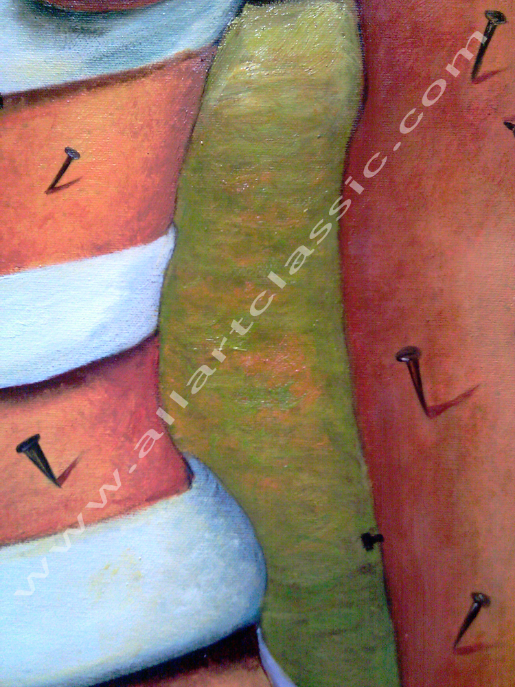 Art Reproductions Frida_Kahlo_Painting_L_D. Our Oil Painting Reproduction -Zoom Details