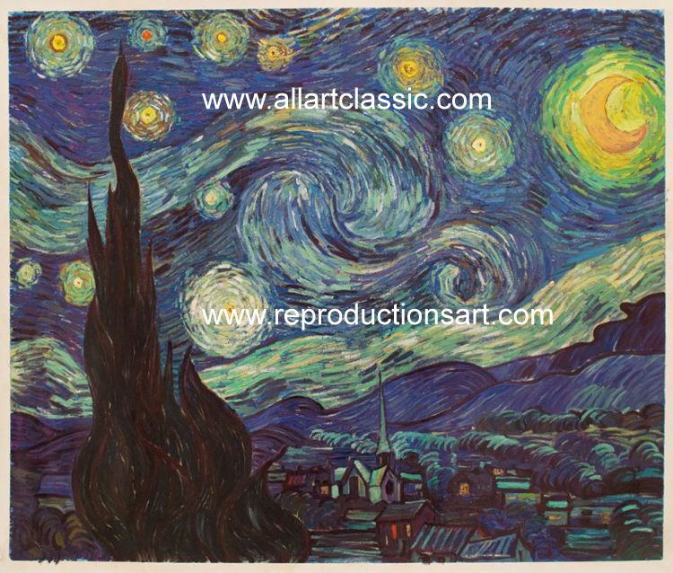 Oil Painting Reproductions of Van Gogh, Vincent