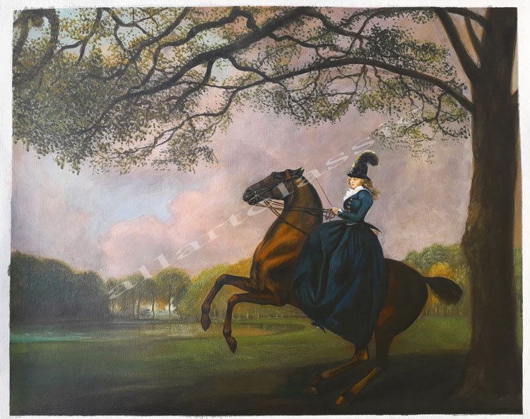 Oil Painting Reproductions of George Stubbs