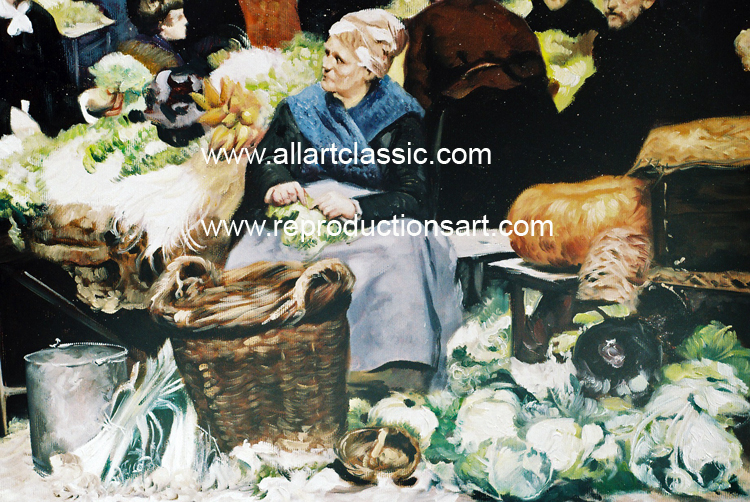 Art Reproductions Gilbert-painting_A. Our Oil Painting Reproduction -Zoom Details