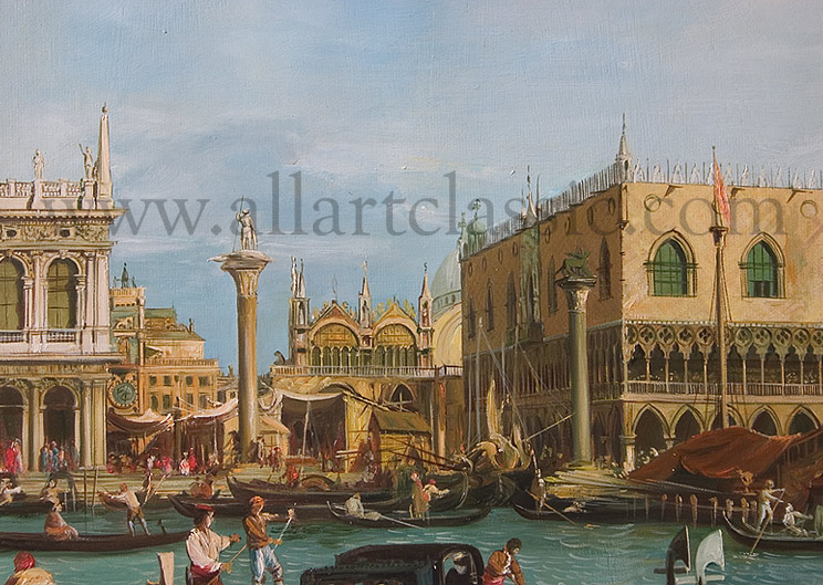 Oil Painting Reproductions Canaletto, Giovanni Antonio Canal