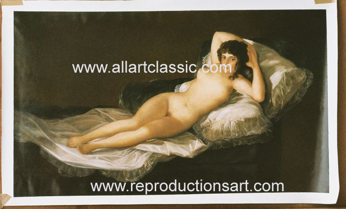 Francisco de Goya Painting Work sample