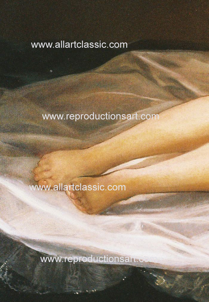 Art Reproductions Goya_001N_C. Our Oil Painting Reproduction -Zoom Details