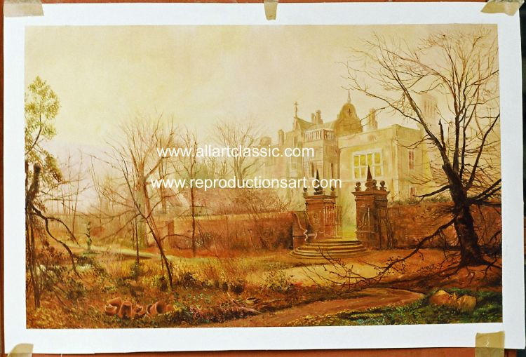 Oil Painting Reproductions of Grimshaw Reproductions Paintings