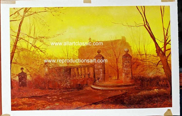 John Atkinson Grimshaw Painting Work sample